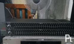 AD 231 2 Series Graphic Equalizer For pick up only