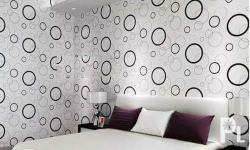 W/Self-Adhesive Wall Paper -Size: 45cm width x 10meters