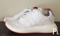Adidas Nmd R2 Pk White/Red 8.5us men's P6,995 Brand new