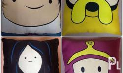 ADVENTURE TIME pillows Love FINN, JAKE and the rest of