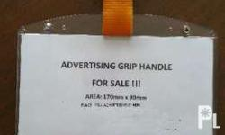 Attention Advertiser!! Advertising Grip handle is for