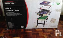 4 in 1 Multi Game Table Pool/Snooker,Football,Air