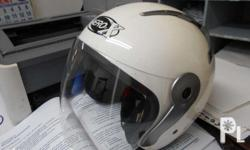 Im selling my used once Aero-x half face helmet for