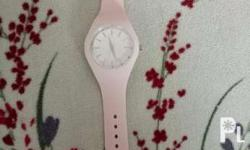 Original Aeropostale Baby Pink Rubber Watch From US