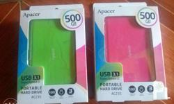 For Sale: Apacer portable hard drive Capacity: 500GB