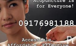 Acupuncture is for Everyone! Accessible, Affordable,