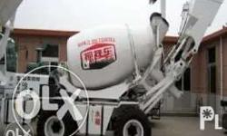 JBC 2.6R Self Load Concrete Mixer 4 cylinders 78Kw