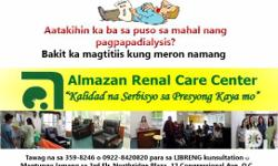 We are Almazan Renal Care Center. We provide excellent