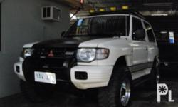 Description Make: Mitsubishi Model: Pajero Sport