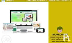 Website Design and Development For only 5500/Year