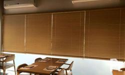 We supply and install all types of window coverings /
