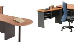 AFS - office furniture xx Lshaped executive table -