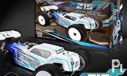 This is the Agama A215T 1/8 Off-Road Nitro Truggy Kit.