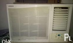 ditigal hitachi window type air condition with 2hp