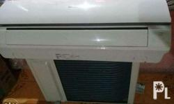 Panasonic split type aircon slightly used hindi halos