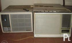 3 2nd hand air condition units 1 condura, carrier and