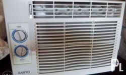 For Sale Sanyo Airconditioner. Used for 1 year only and