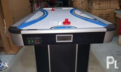 air hockey table very funny games for any ages. and