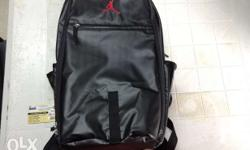 Air Jordan BackPack Used 1x P3.5k - Negotiable With Tag