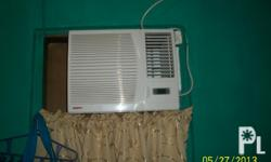 aircon 1hp,with remote control ,sanyo brand slighly