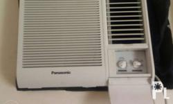 Panasonic aircon 1hp All good in condition For pickup