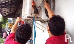 Air conditioning Unit general cleaning installation,