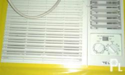 TCL Window Type Airconditioner 1 HP Very excellent