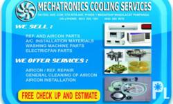 WE OFFER AIRCON AND REFRIGIRATOR SERVICES -