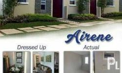Airene Model in Lumina Pampanga House and Lot for Sale