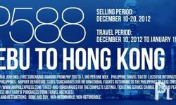 AIRPHIL EXPRESS PROMO FARE FOR AS LOW AS PHP588 FLY