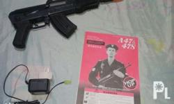 Airsfot ak 47 Half metal With manual complete set 2nd
