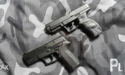 Umarex 9XP steel, blowback steel bb. Also available Sig