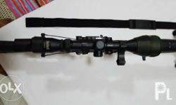 Airsoft Dragunov Sniper blow back green gas Rifle with Scope