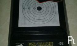 Airsoft pro target with 10 sheets target paper.