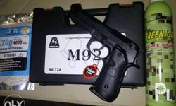 GAS BLOW BACK HANDGUNS full metal Heavy weight 300-350