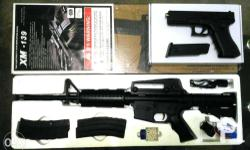 Airsoft xm139 AEG single and full auto function 200Fps