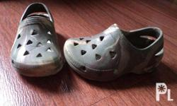 - Authentic - Slightly Used - crocs like material -