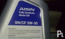 Aisin 5w-30 fully synthetic engine oil for gasoline 4