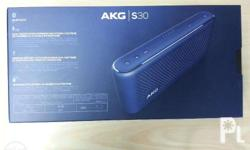 AKG Portable Bluetooth Speaker by HARMAN Model No. S30