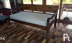 Akle wood outdoor daybed 36x75, heavyduty constructio,