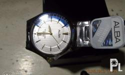 Alba Watch Quartz, Made by Seiko, Alba Watch Quartz,