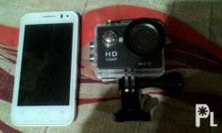 Package goodcondition Alcatel onetouch and 4k action