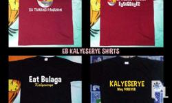 KALYESERYE SHIRTS Available for Adult and Kids Sizes:
