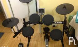 For sale Slightly used Alesis dm6 electric drumset