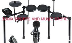 "Alesis Nitro Kit | Electronic Drum Set with 8"" Snare,"