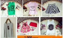 All clothes for only 1,000 (shipping not included) ALL,