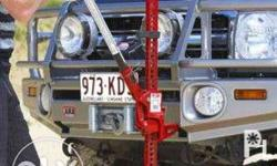 Features Top winch connector clamp standard on all