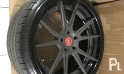 1st pic: fitted on Porsche 21� DPE Mags on Michelin