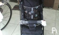We are selling a baby stroller. It is a gift given and