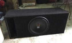 Alphasonic 12 inch Subwoofer with box 400 Watts RMS